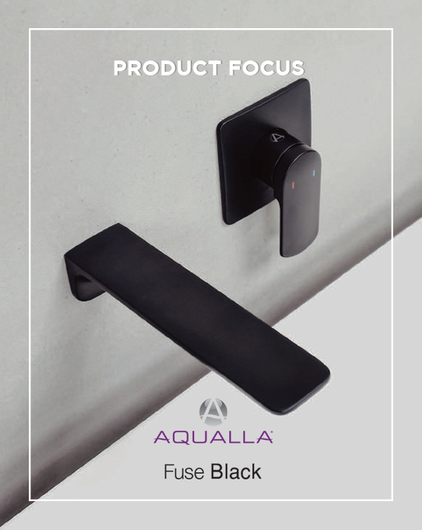 Introducing the Fuse Black Range from Aqualla available at BATHLINE bathroom showrooms in Northern Ireland and the Isle of Man.