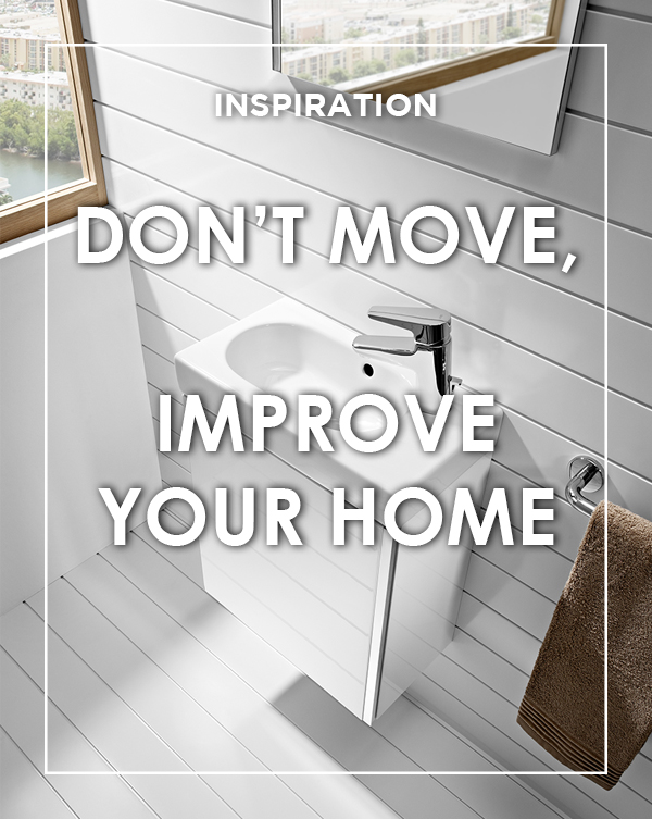 Don't Move, Improve your Home Blog from BATHLINE.