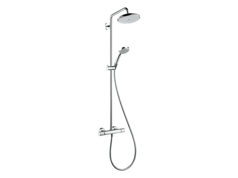 Hansgrohe-Croma-220-Top-Exposed-Showerpipe