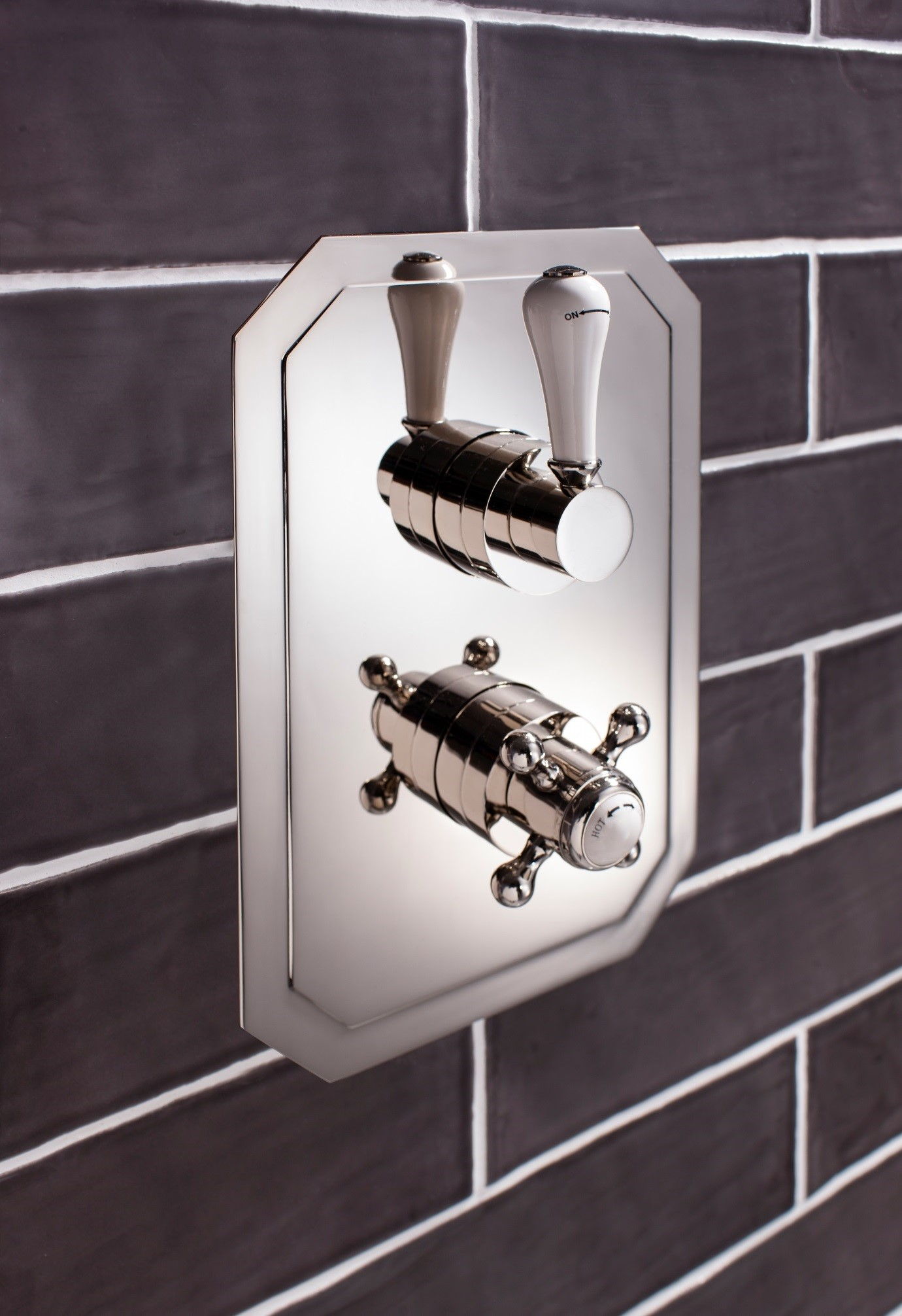 Crosswater Belgravia shower valve available from BATHLINE Bathrooms.