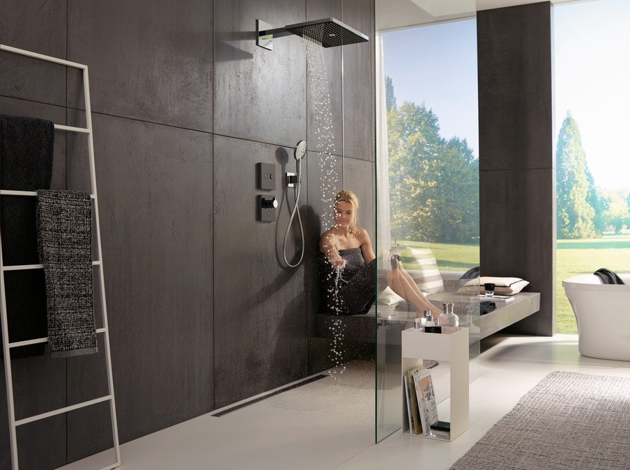 Hansgrohe Raindance shower available from BATHLINE Bathrooms.